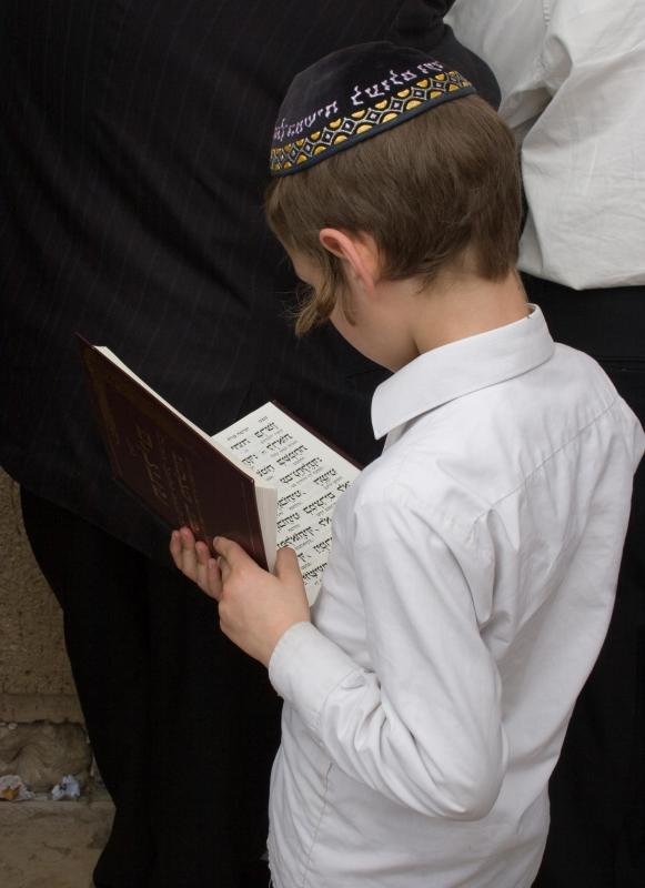 Orthodox Jewish males wear yarmulkes as a symbol of humility.