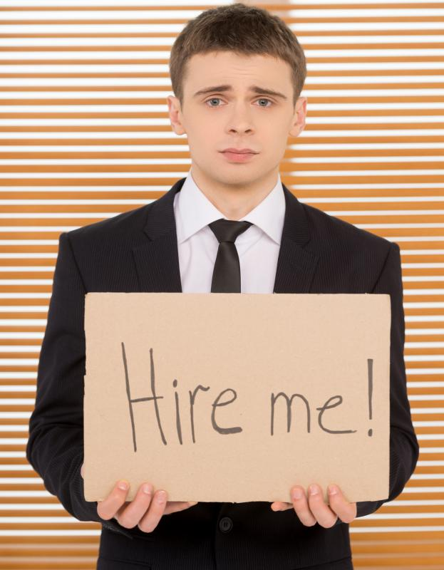 Some professionals can have trouble finding a new job after becoming unemployed.