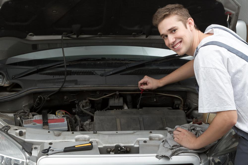 Performing routine maintenance on cars can save money on repair costs.