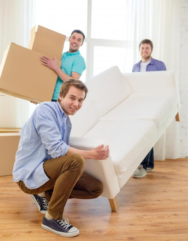 People who work for large companies may receive a relocation specialist as part of their compensation package.