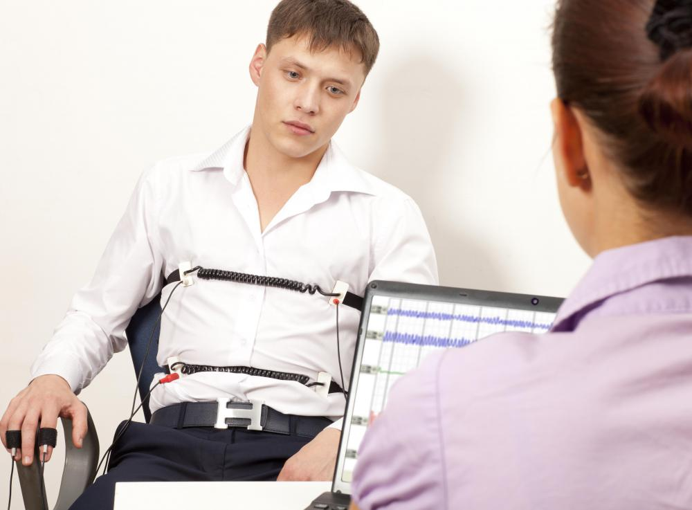 A lie detector test is required to be considered for employment with both the FBI and CIA.
