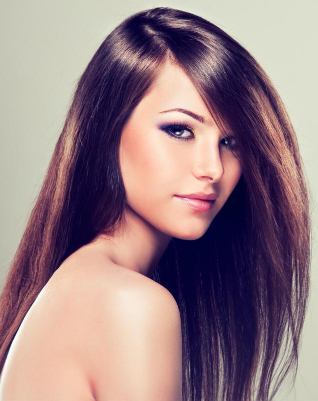 Use of chamomile shampoo results in silky, shiny hair.