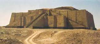 Sumerian temples are called ziggurats, and some were as tall as the Egyptian pyramids.